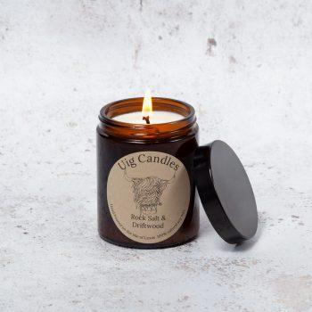 Uig Candles Amber Jar