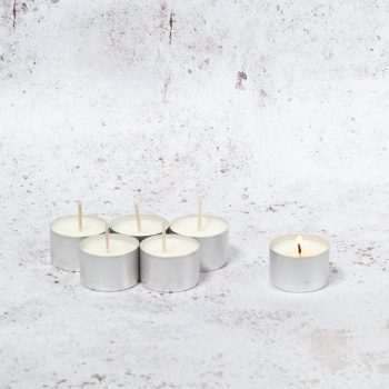 Uig Candles Unscented Natural Soy Wax Tealights