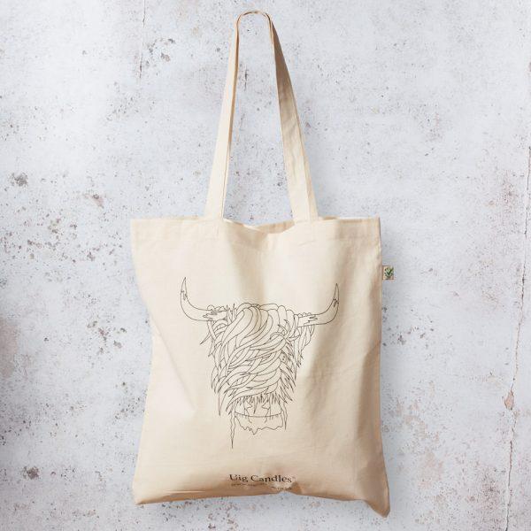 Uig Candles Organic Cotton Tote Bag4Life