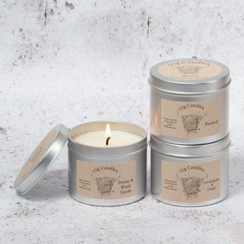 Uig Candles Three Tin Gift Set - Large
